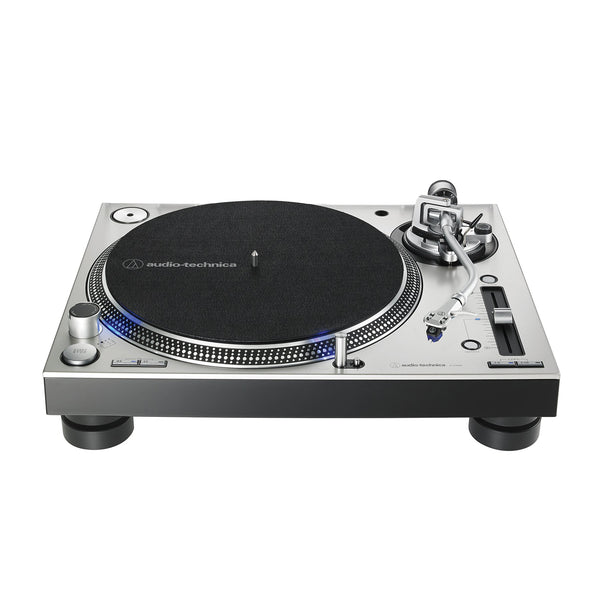 Audio Technica: AT-LP140XP-SV Direct Drive DJ Turntable - Silver