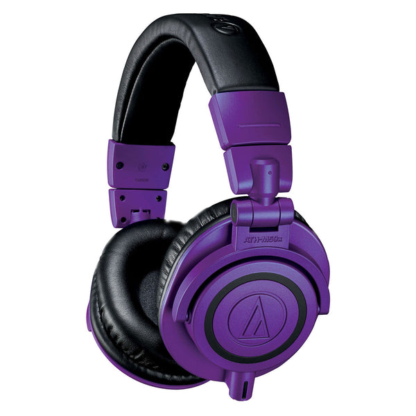 Audio-Technica: ATH-M50XPB Headphones - Limited Edition Purple / Black