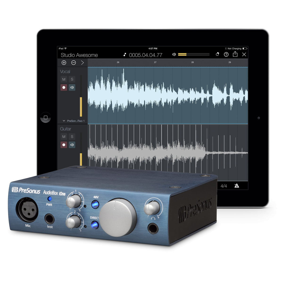 PreSonus: AudioBox iOne Audio Interface