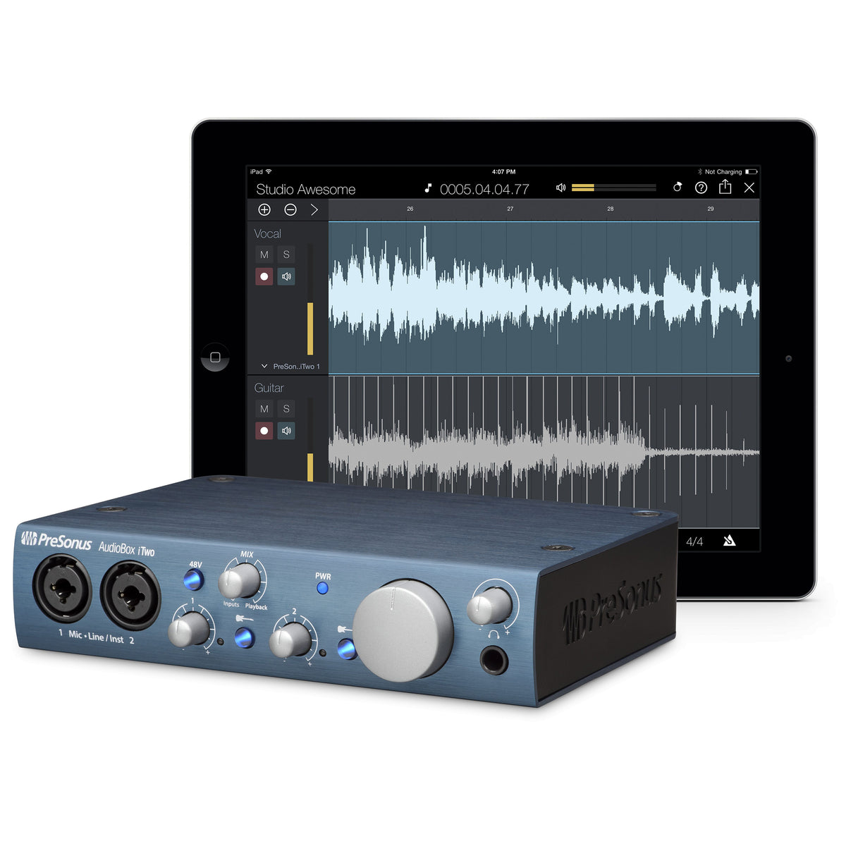 PreSonus: AudioBox iTwo Audio Interface