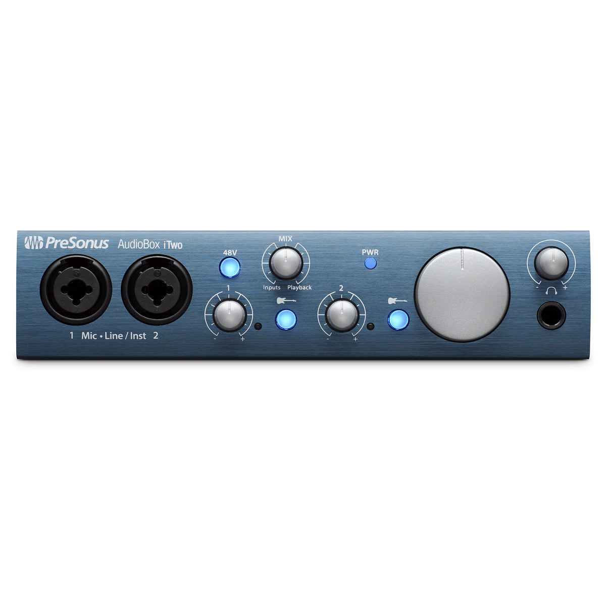 PreSonus: AudioBox iTwo Studio (AudioBox iTwo, HD7 Headphones, M7 Microphone, Studio One Artist)