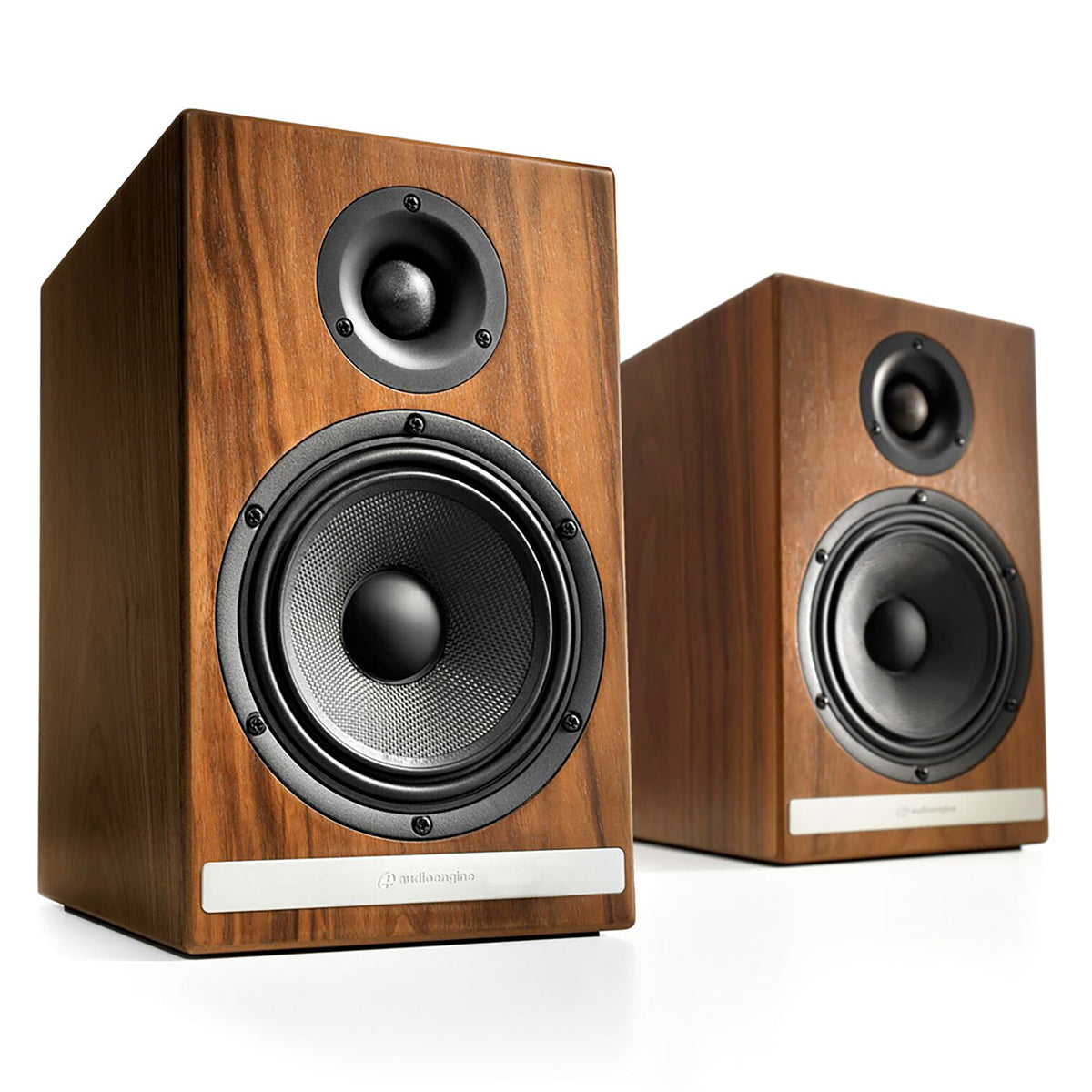 audioengine hdp6 passive speakers walnut. Black Bedroom Furniture Sets. Home Design Ideas
