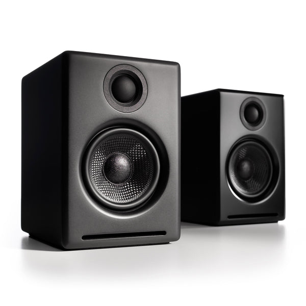 Audioengine: A2+ Wireless Powered Speakers w/Bluetooth - Black
