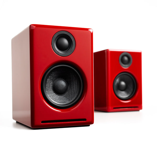 Audioengine: A2+ Wireless Powered Speakers w/Bluetooth - Red