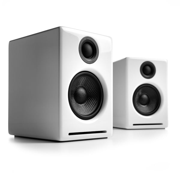 Audioengine: A2+ Wireless Powered Speakers w/Bluetooth - White