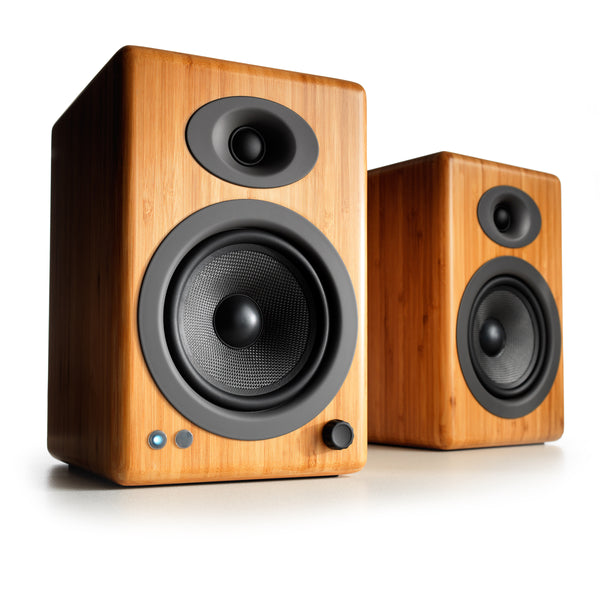 Audioengine: A5+ Powered Speakers w/Bluetooth - Bamboo (A5+BT-BAM)