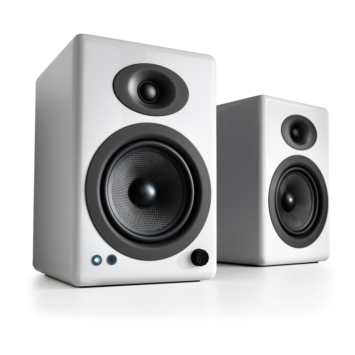 Audioengine: A5+ Powered Speakers w/Bluetooth - White (A5+BT-WHT)