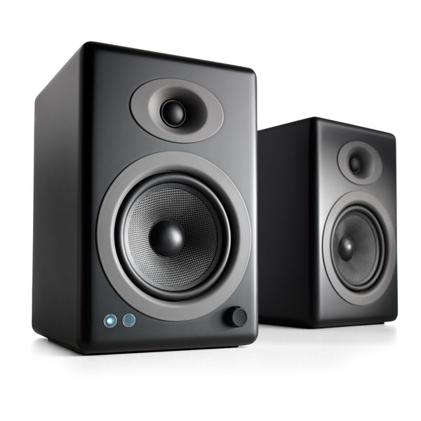 Audioengine: A5+ Powered Speakers w/Bluetooth - Black (A5+BT-BLK)