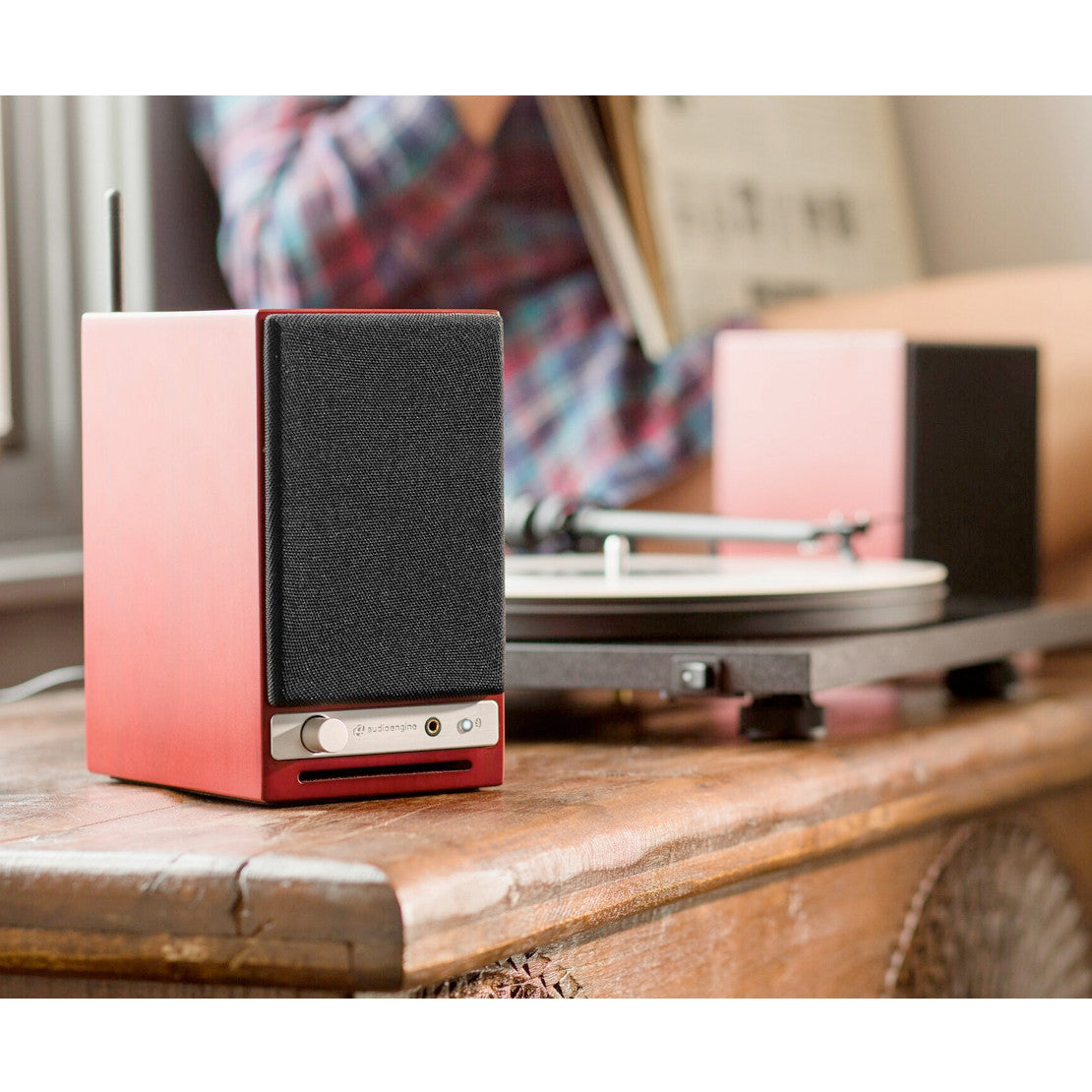 Audioengine: HD3 Powered Bluetooth Speakers - Cherry