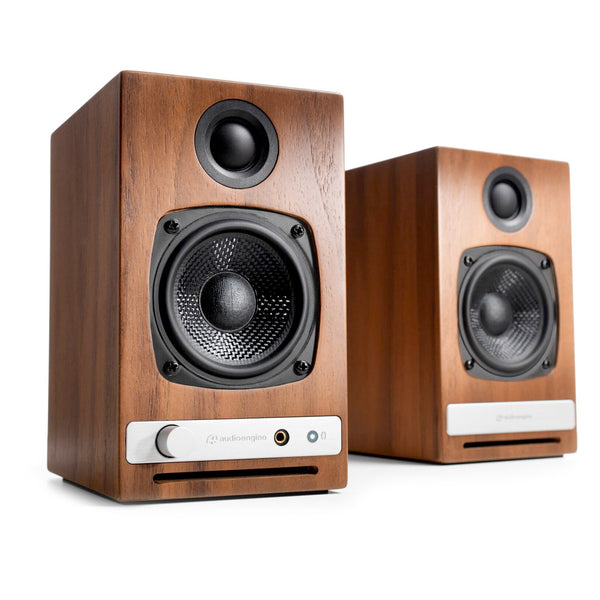 Audioengine: HD3 Powered Bluetooth Speakers - Walnut