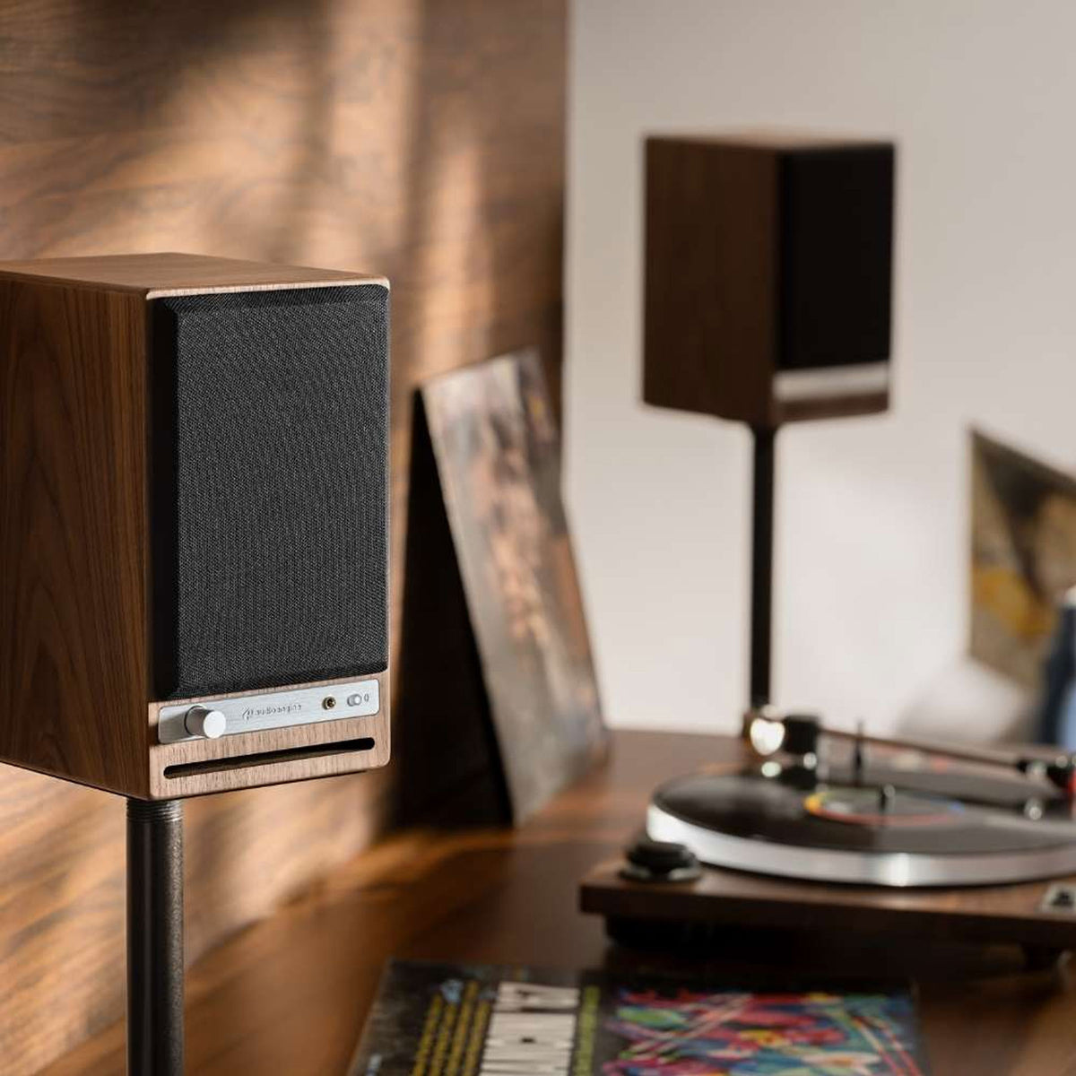 Audioengine: HD4 Powered Bluetooth Speakers - Black