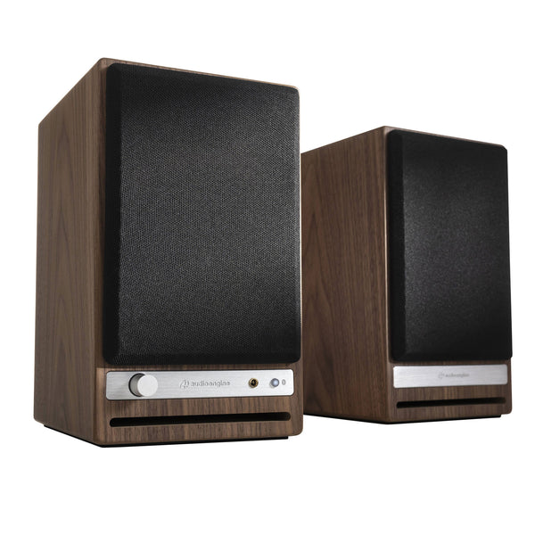 Audioengine: HD4 Powered Bluetooth Speakers - Walnut