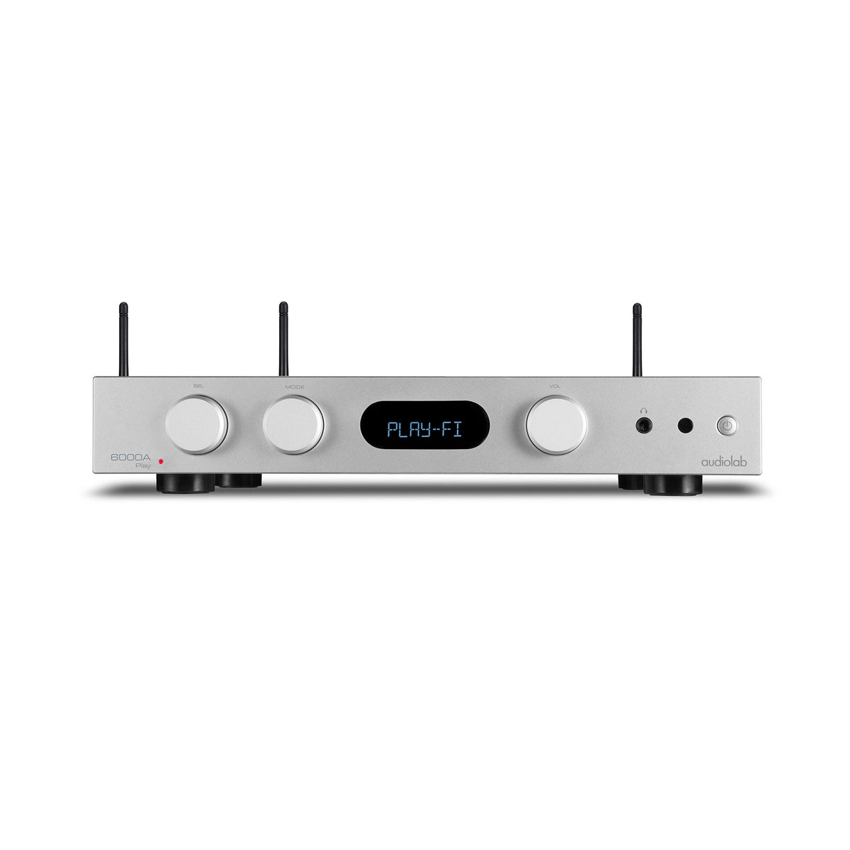 Audiolab: 6000A Play Integrated Amplifer + WiFi Streamer - Silver (600APLAYS)