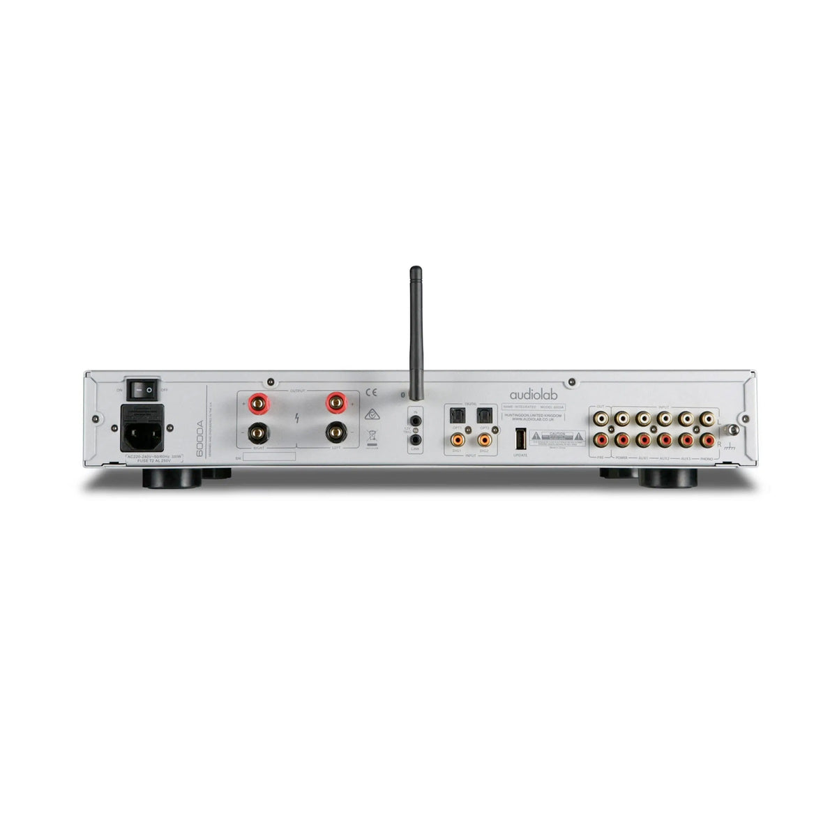 Audiolab: 6000A Integrated Amplifier - Silver