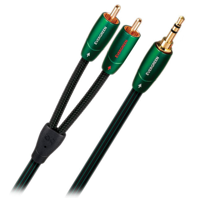 Audioquest: Evergreen Audio Interconnect Y-Cable (3.5m - RCA) 2.0M