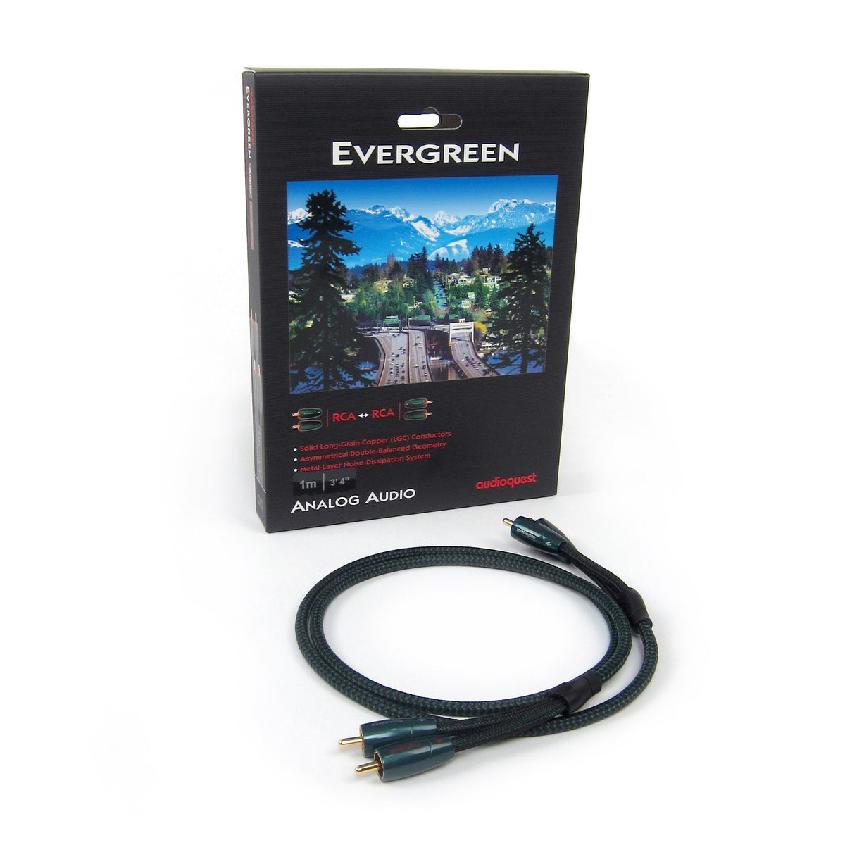 Audioquest Evergreen Interconnect RCA