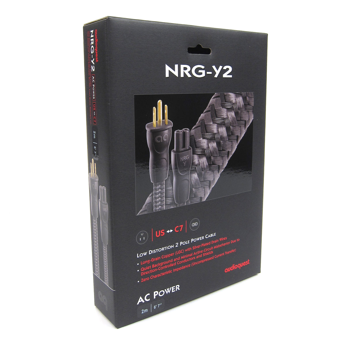 Audioquest: NRG-Y2 US Power Cord - 2.0M