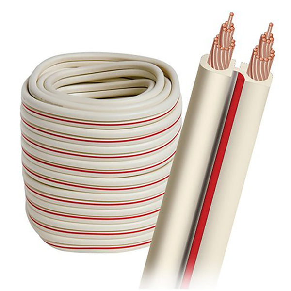 Audioquest: X2 Speaker Cable 14 AWG Spool - White / 100 FT