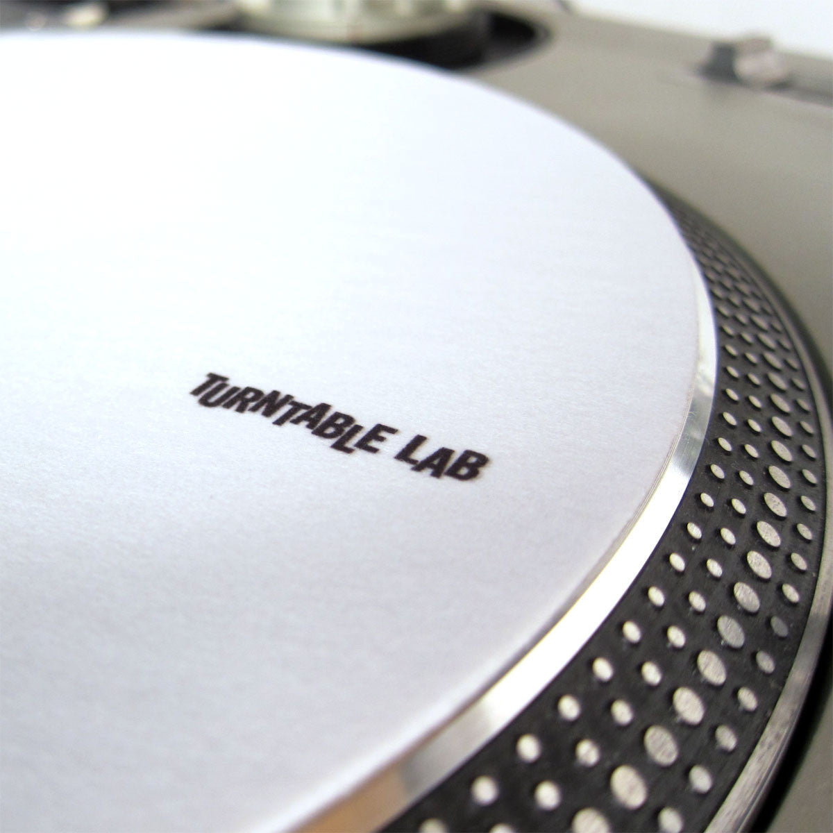 Turntable Lab: Audiosetup Slipmats Various white turntable