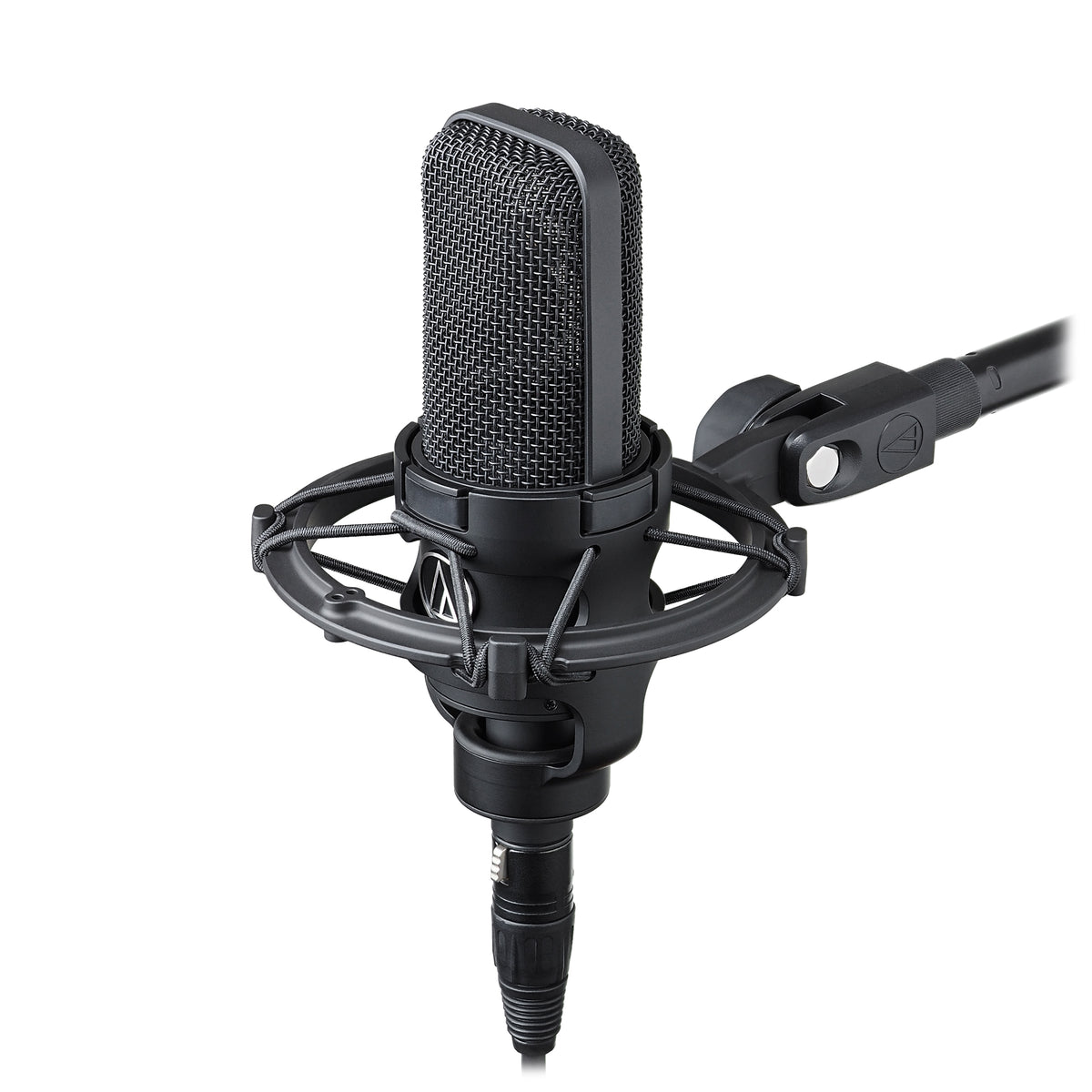 audio technica at4040 cardioid condenser microphone w at8449 shock m. Black Bedroom Furniture Sets. Home Design Ideas
