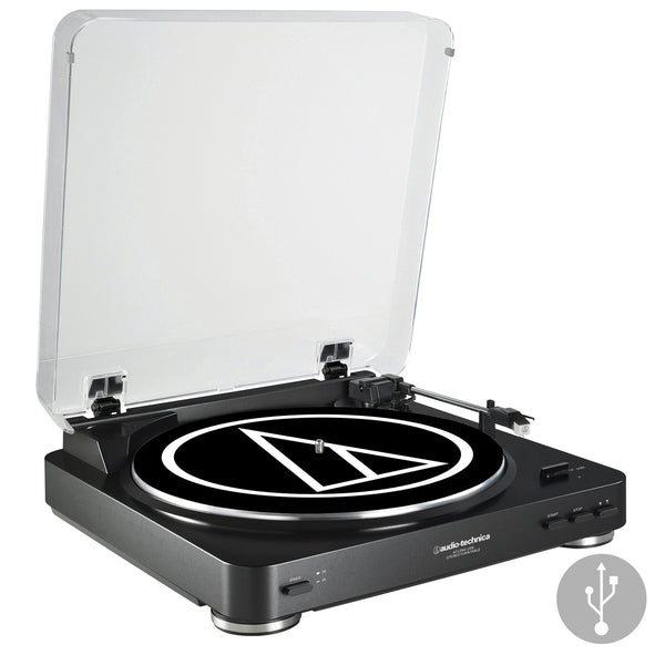 Audio-Technica: AT-LP60BK-USB Automatic Turntable - Black