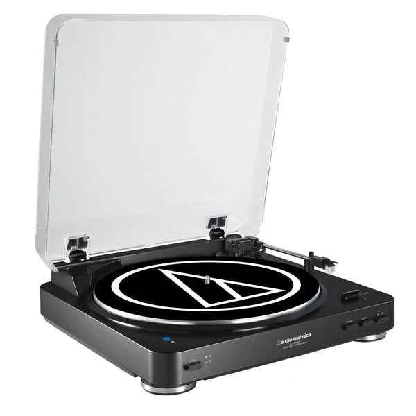 Audio-Technica: AT-LP60BK-BT Bluetooth Turntable - Black