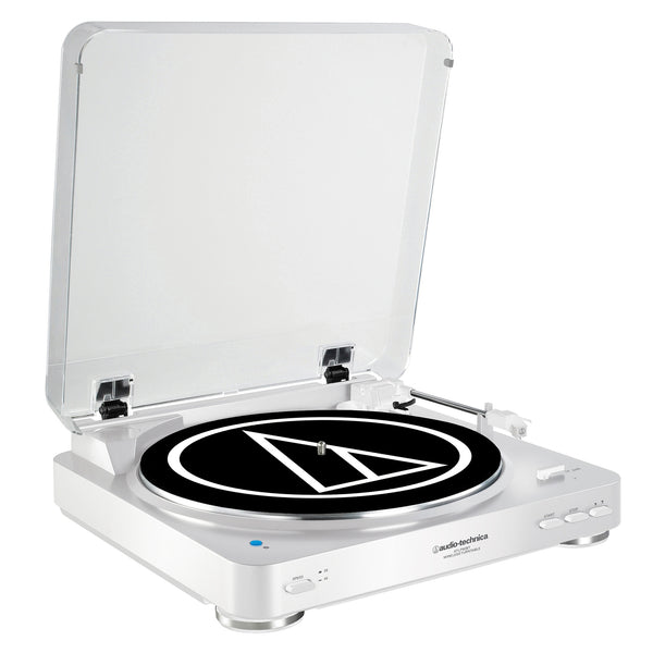 Audio-Technica: AT-LP60WH-BT Bluetooth Turntable - White