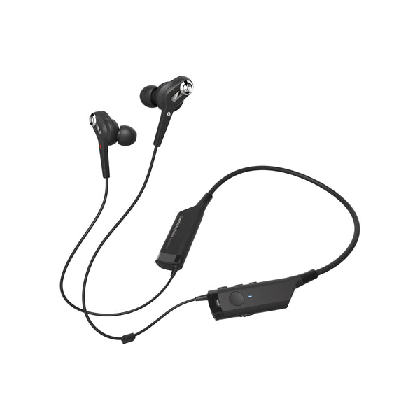Audio-Technica: ATH-ANC40BT QuietPoint Active Noise-Cancelling Wireless In-Ear Headphones