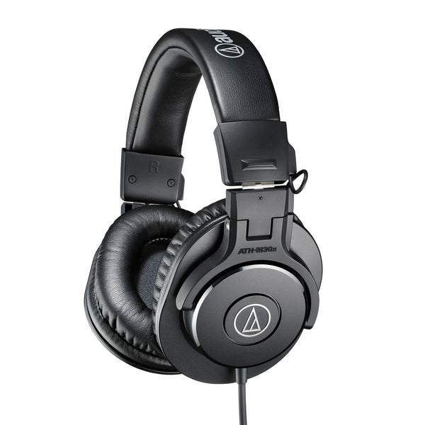 Audio-Technica: ATH-M30X Closed Back Dynamic Headphones - Black