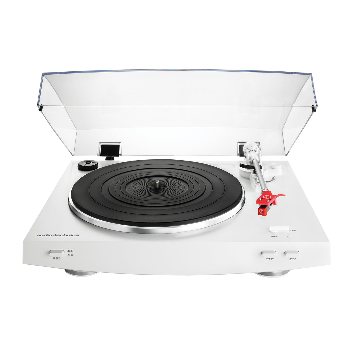 Audio Technica At Lp3wh Automatic Turntable White