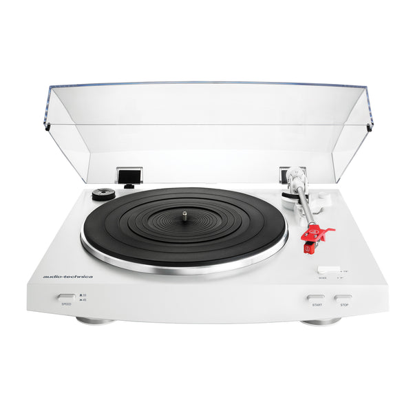 Beau Audio Technica: AT LP3WH Automatic Turntable   White