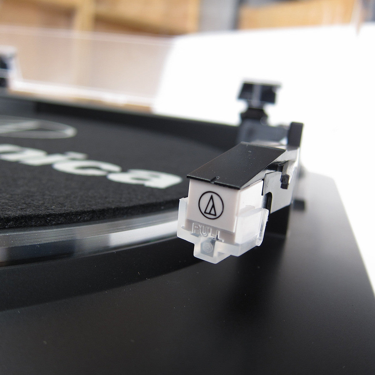 Audio-Technica: AT-LP60BK Automatic Turntable - Cartridge