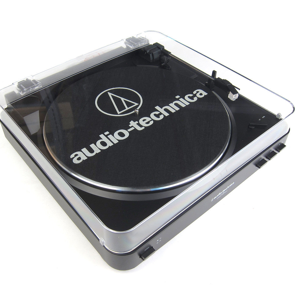 Audio-Technica: AT-LP60BK Automatic Turntable - Dustcover