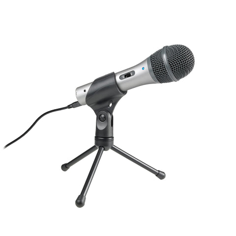 Audio-Technica: ATR2100-USB Cardioid Dynamic USB/XLR Microphone