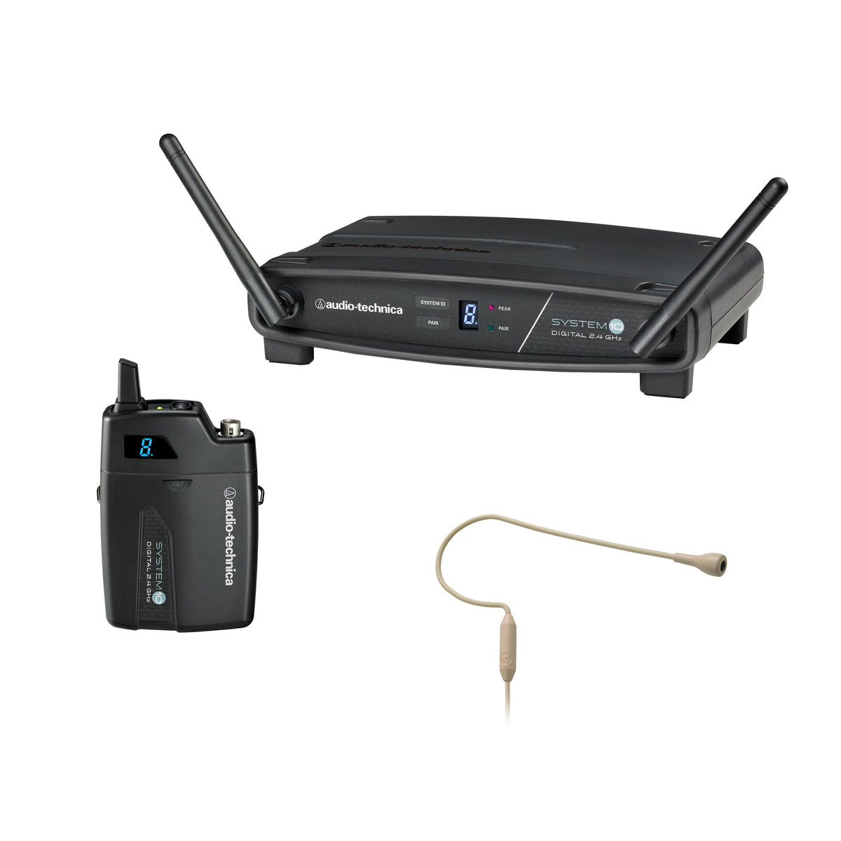 Audio-Technica: ATW-1101/H92-TH System 10 Camera Mount HiFi Digital Wireless System (ATW-R1100, ATW-T1001, PRO 92cW-TH)