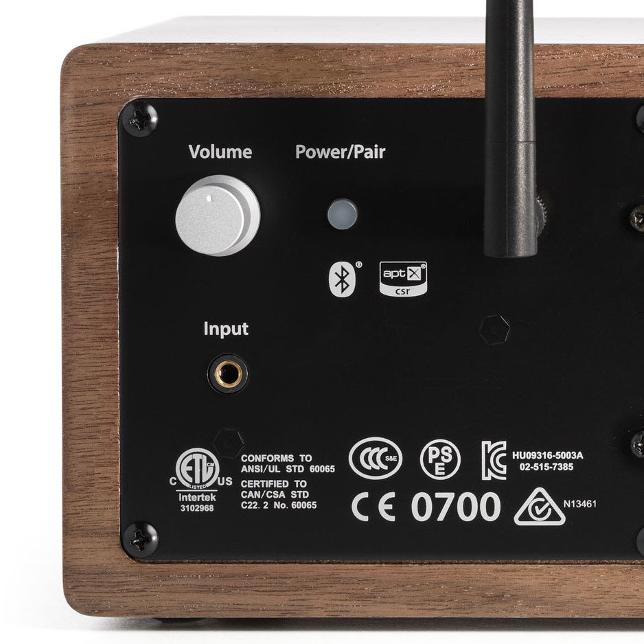 Audioengine: B2 Bluetooth Desktop Speaker - Walnut detail