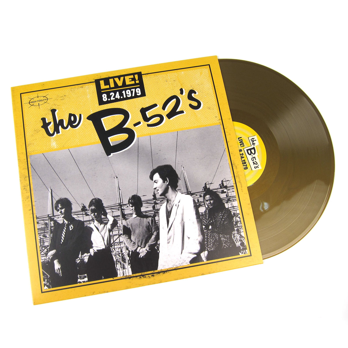 The B-52's: Live! 8-24-1979 (Colored Vinyl) Vinyl LP (Record Store Day)