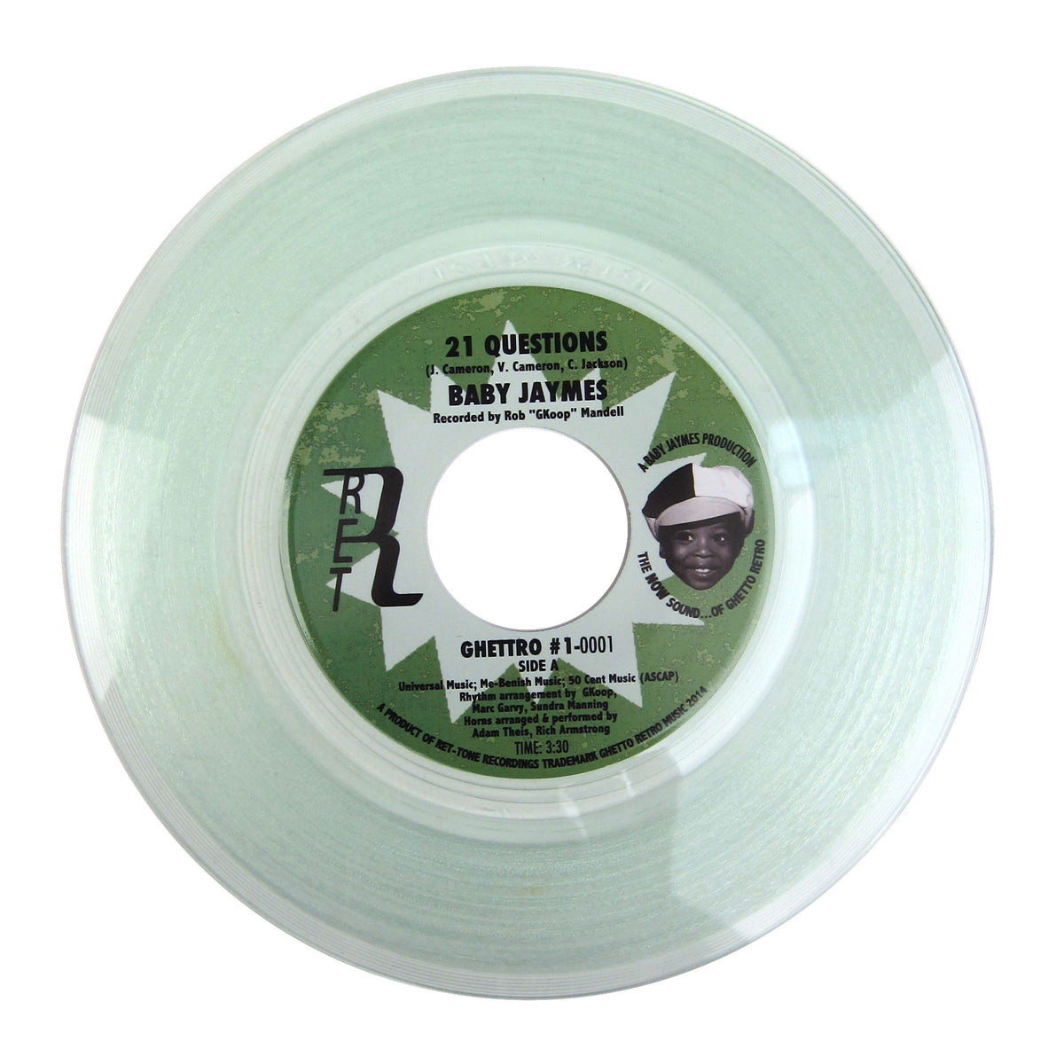 Baby Jaymes: 21 Questions (Colored Vinyl) Vinyl 7""