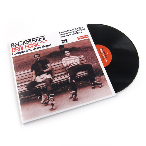 Joey Negro: Backstreet Brit Funk Vol.2 Part 2 Vinyl 2LP
