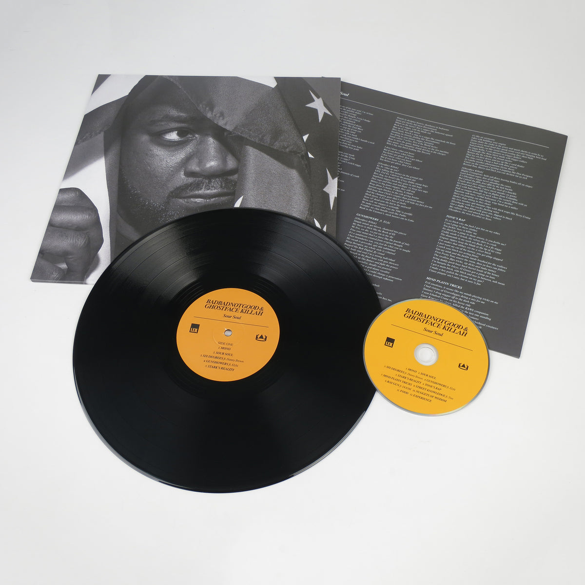BadBadNotGood & Ghostface Killah: Sour Soul (180g) Vinyl LP+CD 2