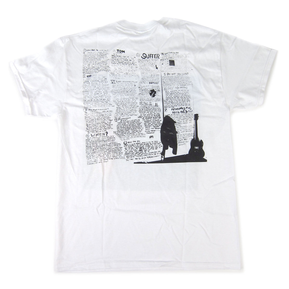 Bad Religion: Suffer Cover Shirt - White