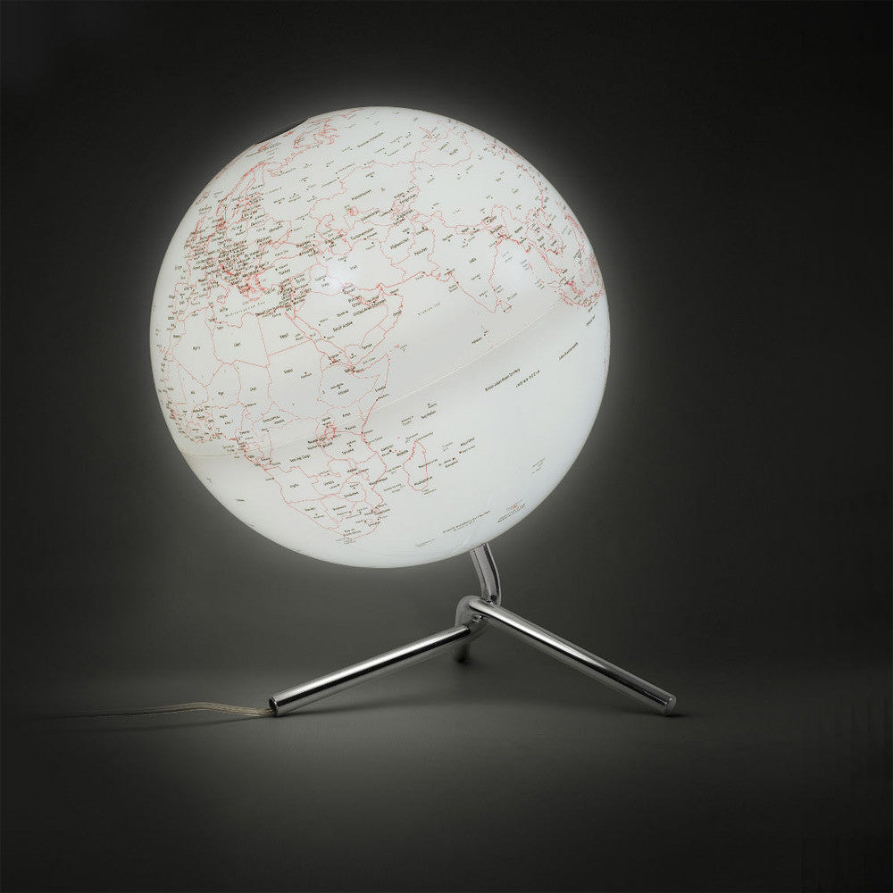 Atmosphere: Nodo Globe - Illuminated White / Red (AG-NODO)detail