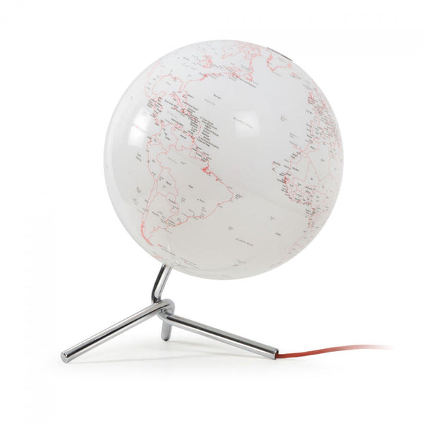 Atmosphere: Nodo Globe - Illuminated White / Red (AG-NODO)