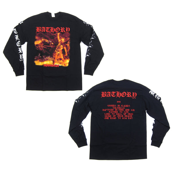Bathory: Hammerheart Longsleeve Shirt - Black