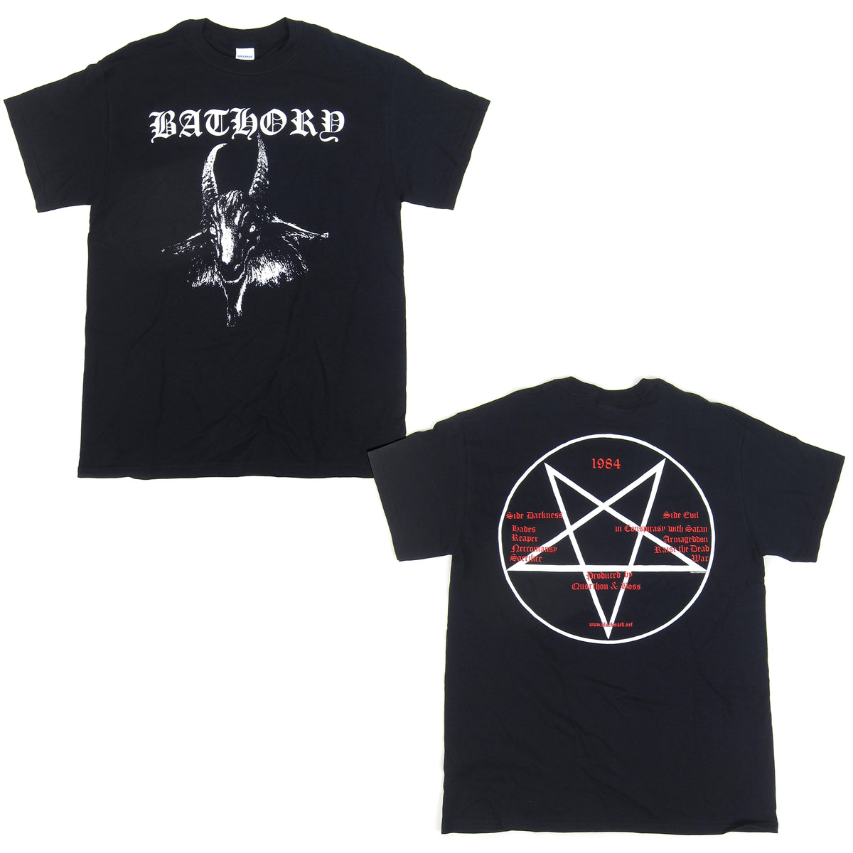 Bathory: Goat Shirt - Black