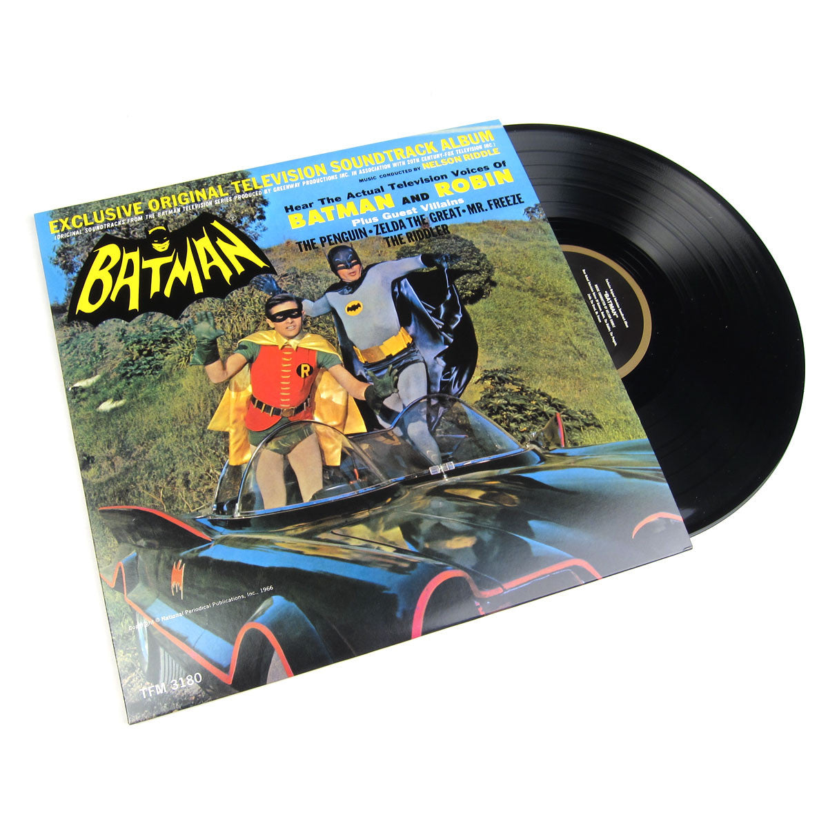 Batman: Exclusive Original Television Soundtrack Album Vinyl LP