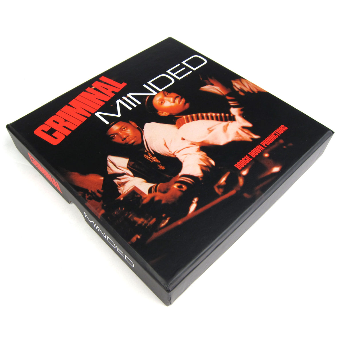 "Boogie Down Productions: Criminal Minded 7"" Vinyl Box Set box"