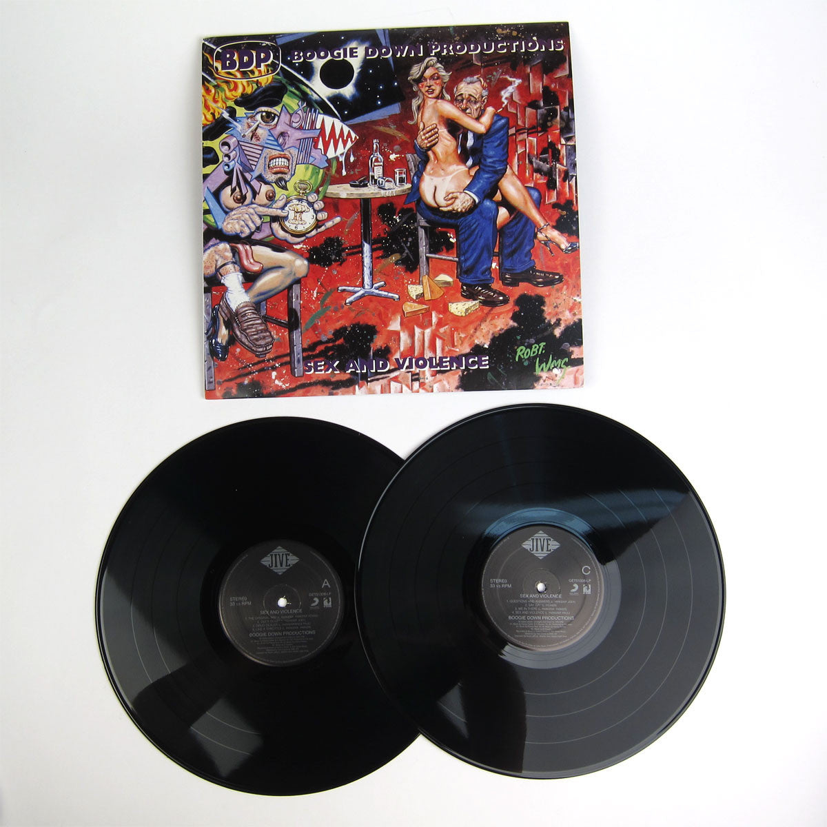 Boogie Down Productions: Sex & Violence Vinyl 2LP