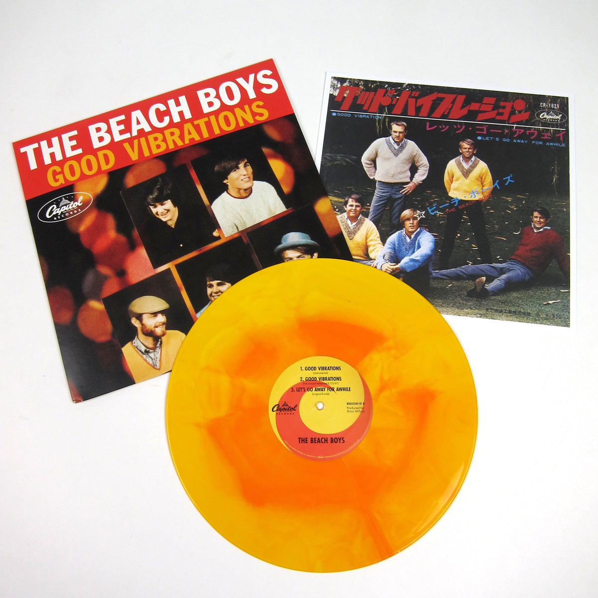 The Beach Boys: Good Vibrations (Colored Vinyl) Vinyl 12""