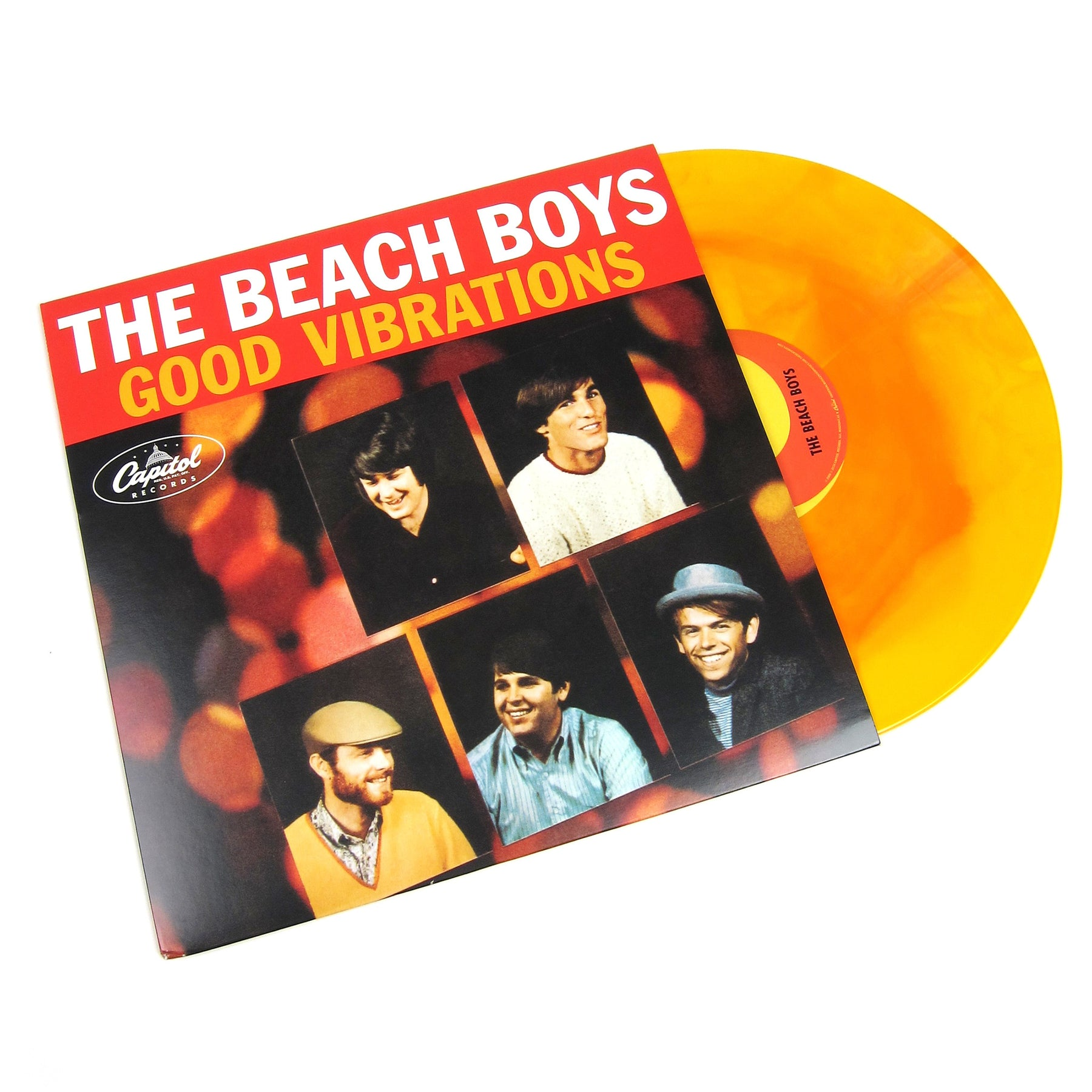 1ebfb9fd The Beach Boys: Good Vibrations (Colored Vinyl) Vinyl 12 ...